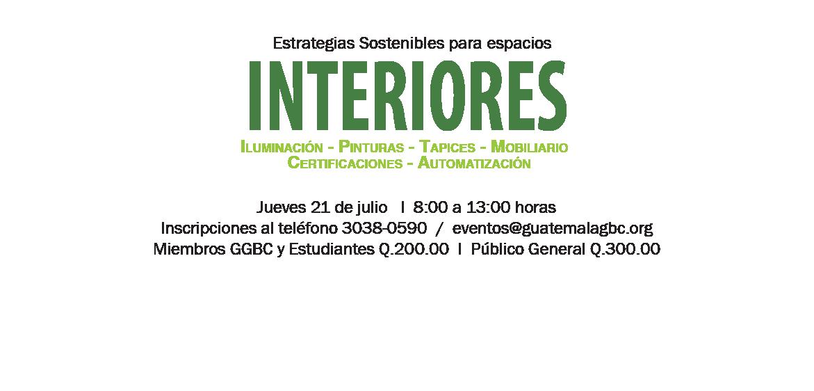 Taller: Interiores Verdes